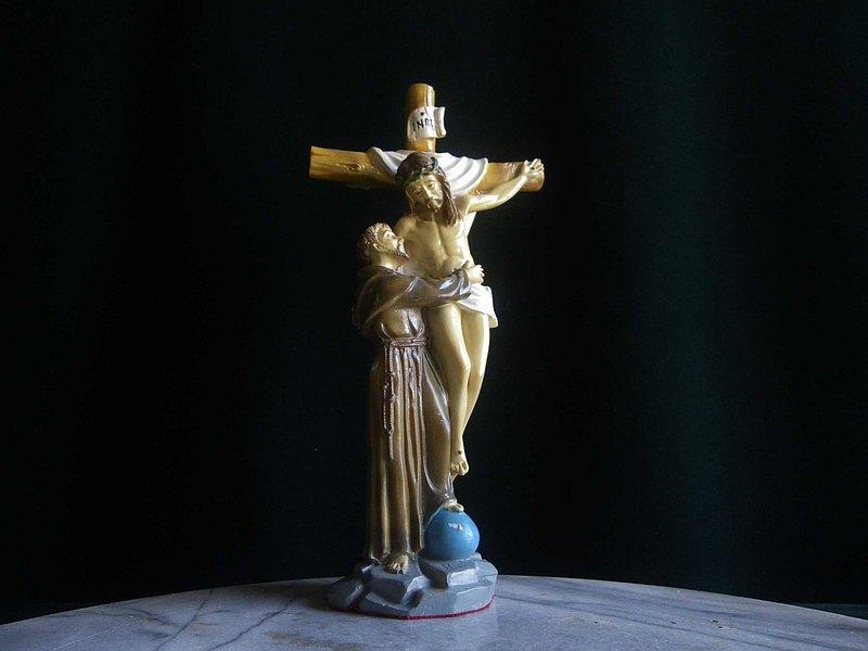 【老時光 OLD-TIME】早期耶穌十字架擺飾