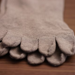 7015 bamboo charcoal five toe professional deodorant socks gray (2 colors optional)