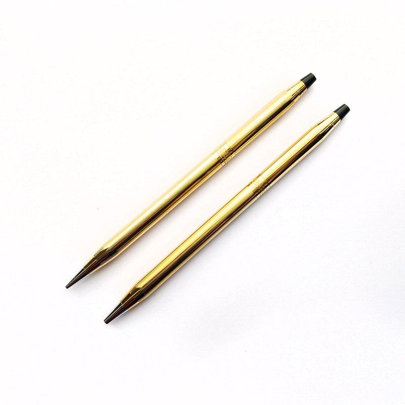 CROSS 雕花原子筆自動鉛筆  | 美國 稀有 絕版 收藏