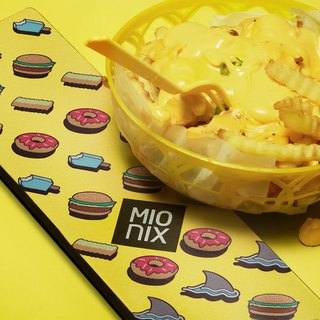 Mionix Long pad Mouse & Keyboard  (Fresh Fries)