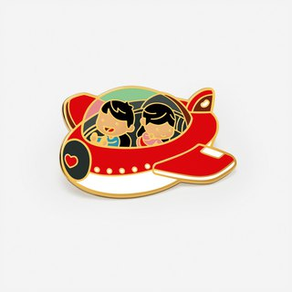 Love is...embark a new journey together - Exclusive Bean It x HJ-Story collaboration pin