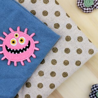 Three eyes self-adhesive embroidered cloth sun stickers - Monster Planet universe