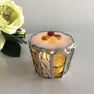 Sweet night LED candle holder Honey muffin glass Bay View