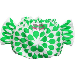 Japan ALOHALOHA wrap pants CANDY BLOOMER flower syrup green