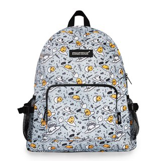 Murmur storage backpack - egg yolk gray