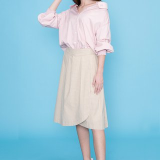 Flat Shoulder Sleeve Shirt 123611A