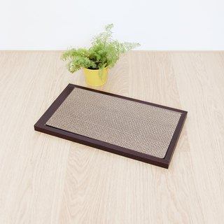 [Ange home] grab the falling sand pad (walnut)