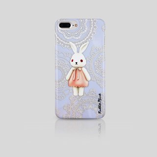 (Rabbit Mint) 薄荷兔手機殼 -  蕾絲布瑪莉 Merry Boo - iPhone 7 Plus (M0018)