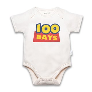 Baby Neutral Baby Bodysuit - 100 days