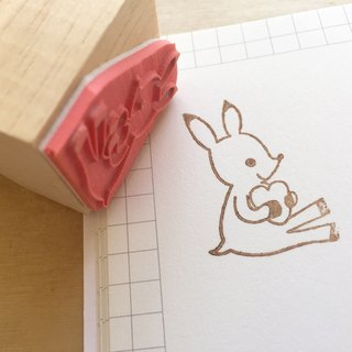 Zoe's Forest Love Deer Seal Rubber Stamp