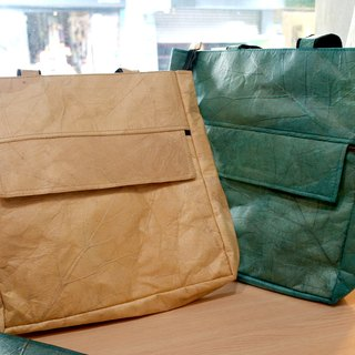 Mr.Leaf-natural temperament tote bag
