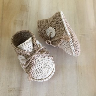 Baby Boat Shoes Baby Booties Crochet Baby Sneakers Crochet Baby Footwear