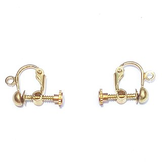 Painless brass ear clips plus purchase area <applicable to the museum's ordering products plus purchase>