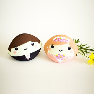 Wedding couple coin purse Accessories bag in Japanese style