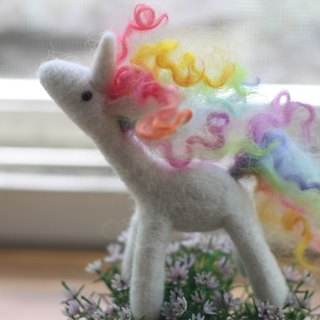 Rainbow pony soft candy color made section