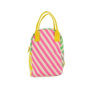Canadian fluf organic cotton [backpack] - sweetheart stripes