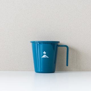Stack of stacked enamel cup -250ml