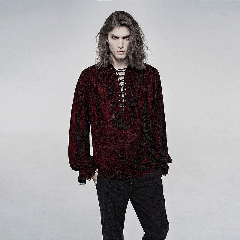 異教徒術士絲絨襯衫 - 多色 / 即將絕版