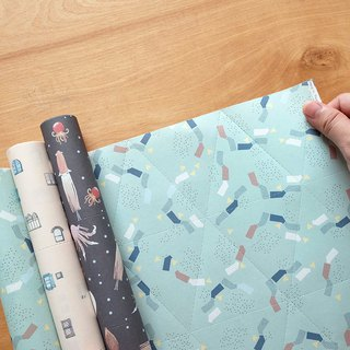 Reusable Wrapping papers (Collection 5) : Set of 3
