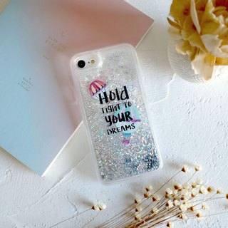 PATTERN LAB | Liquid Glitter Case for iPhone 6/6S/7/8 - Dream