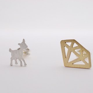 Banbi & Diamond Earrings [adamant]