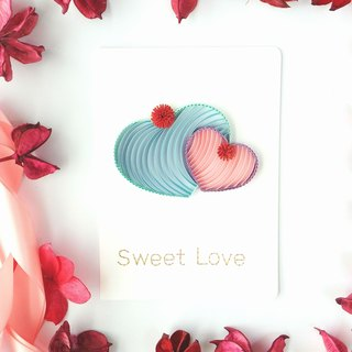 Hand made decorative cards-Sweet love