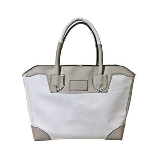White by Color Tote Bag