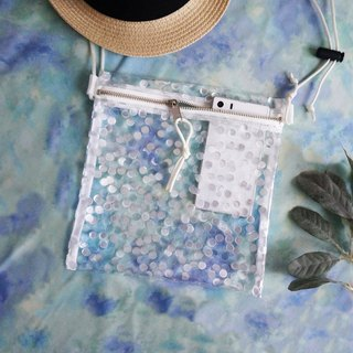 dot Transparent plastic bag Sacoshbag
