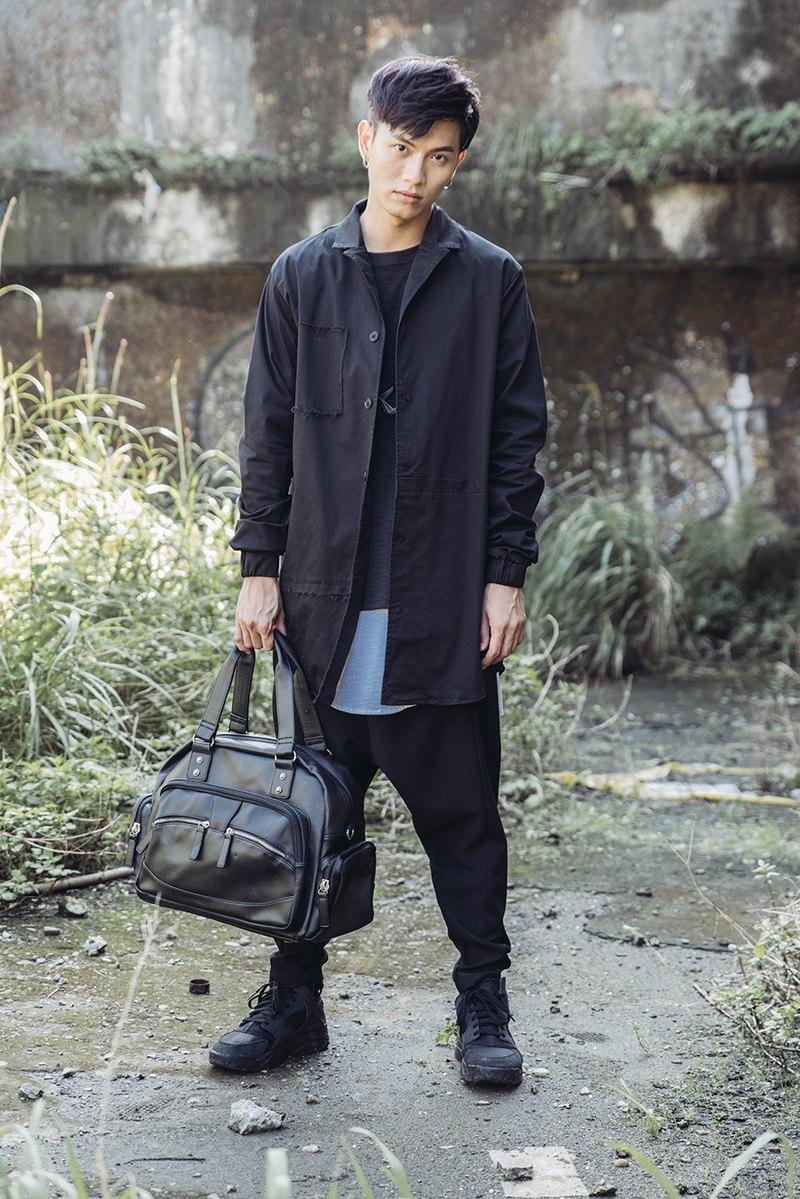 長版粗獷造型襯衫外套#8805