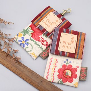 Peace classic card package -, small red flowers, business card package, leisure card package directly over the card