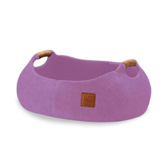 Lifeapp Cat Basket BASKET BOWL_Lavender Purple