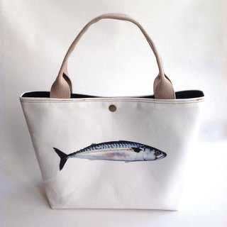Design No.MK129 - 【Cotton Canvas】Mackerel Totes