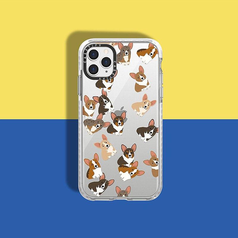 Casetify iPhone 11 Pro 耐衝擊保護殼-搗蛋柯基