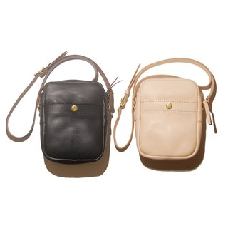 Square leather bag - square leather bag