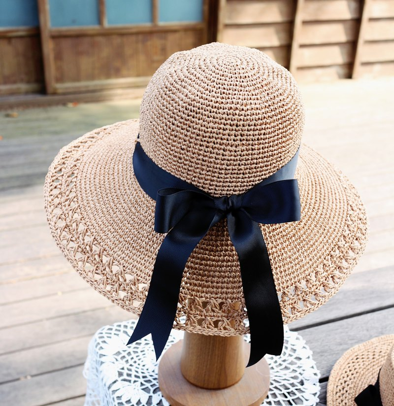 Handmade - Lady Hat - Visor - Travel / Light Travel / Birthday Gift