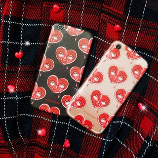 Dark sweet wind illustration crying heart (sad) Iphone phone case