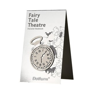 Fairy tale stage character bookmark / pocket watch
