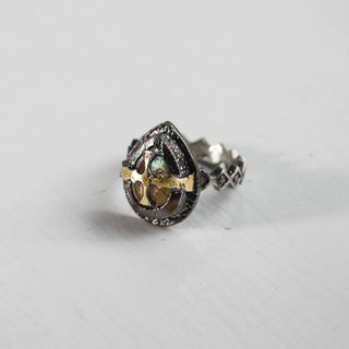 Cross knight ring