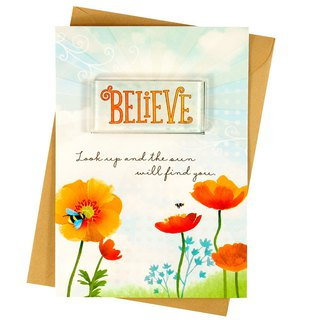 Always believe in yourself [Hallmark-creative cards for morale]