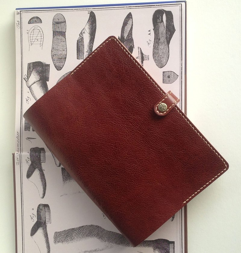 Bambini  A5  Leather Notebook Cover