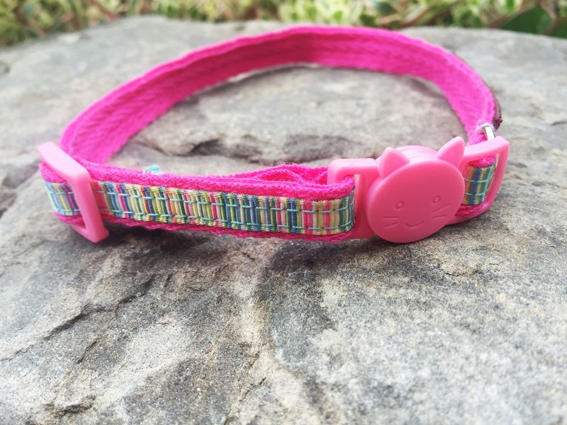 Chain hair child collar - Benny feel line of the cat head security buckle 1 section section [spot]