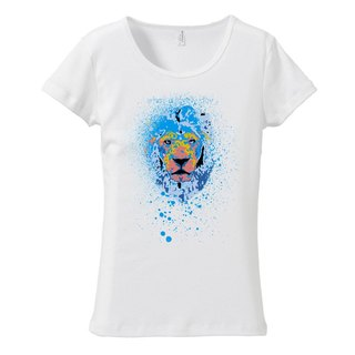 [Women's T-shirt] Blue Beast