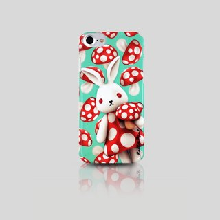 (Rabbit Mint) Mint Rabbit Phone Case - Mushroom Series Merry Boo - iPhone 7 (M0005)