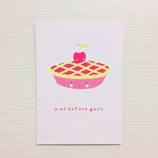 Netherlands a Little Lovely Company - healing cute postcard - smiling cherry pie