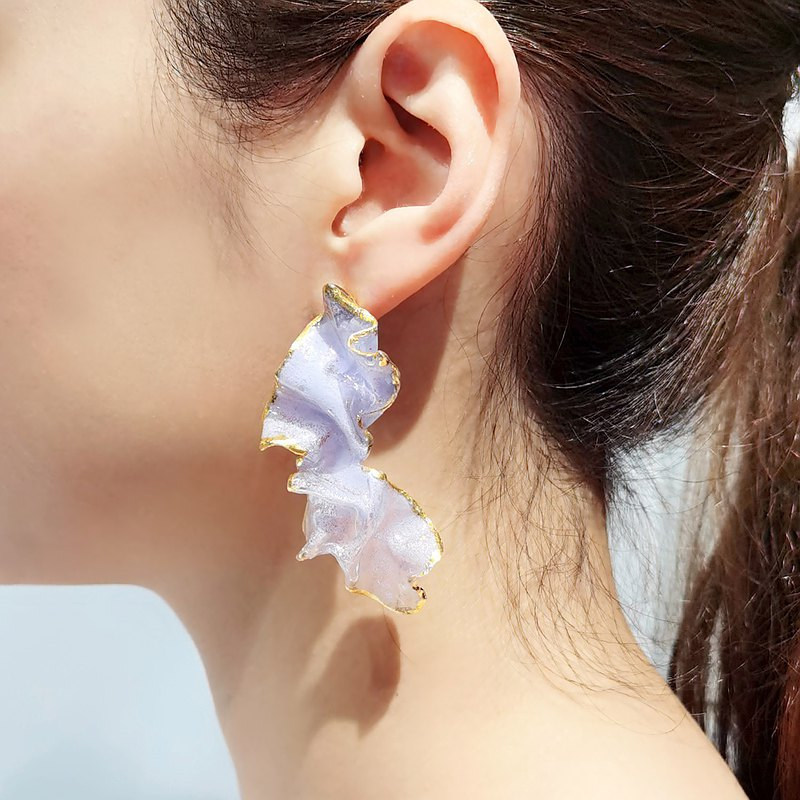 Colour Therapy Earrings (Dancing Flower)