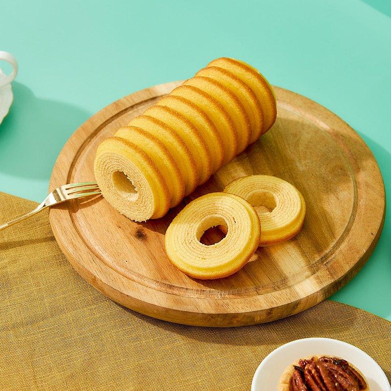 【愛不囉嗦】年輪蛋糕單條禮盒 - 原味 ( 彌月/生日/節慶送禮 )