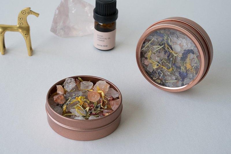 天然擴香 留白 玫瑰礦鹽 隨身香氛系列