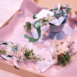 One Flower Custom-made Forest Department Hydrangea Corolla Corsage Wrist Purchasing area