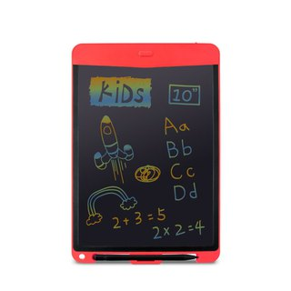 Green Board KIDS 10 inch Colorful LED eDrawing Board (Cherry Red)