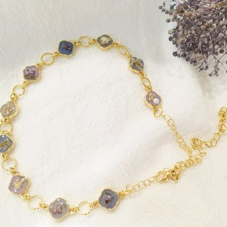 Original temperament dry flower classical necklace bracelet